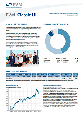 Freiburger Vermögensmanagement Factsheet