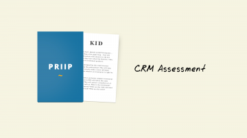 KIDs for PRIIPs: CRM Assessment